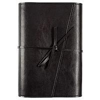 Ежедневник Strap, недатированный, черный, фото 1