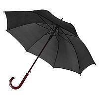 Зонт-трость Unit Standard, черный, фото 1