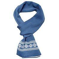 Шарф «Скандик», синий (индиго), фото 1