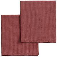 Набор полотенец Fine Line, красный, фото 1