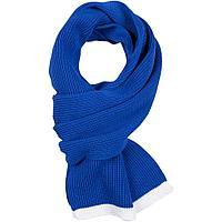 Шарф Amuse, синий с белым, фото 1