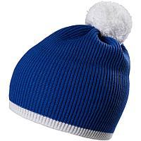 Шапка Amuse, синяя с белым, фото 1
