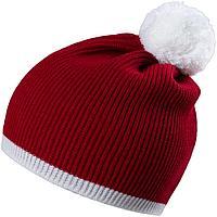 Шапка Amuse, красная с белым