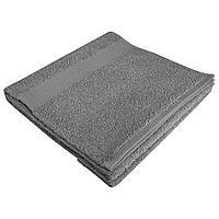 Полотенце махровое Soft Me Large, серое, фото 1