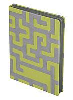 Ежедневник Labyrinth, недатированный, зеленый