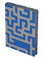Ежедневник Labyrinth, недатированный, синий, фото 1
