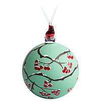 Елочный шар с фигуркой «Зимняя ягода», 10 см, фото 1