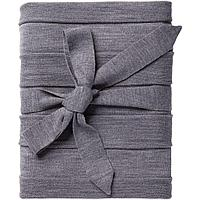 Плед Pleat, серый, фото 1