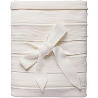 Плед Pleat, молочно-белый, фото 1