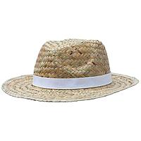 Шляпа Daydream, бежевая с белой лентой, фото 1
