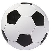 Мяч футбольный Hat-trick, черный, фото 1