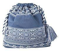 Сумка «Скандик», синяя (индиго), фото 1