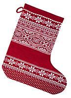 Новогодний носок «Скандик», красный
