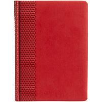 Ежедневник Brand, недатированный, красный, фото 1