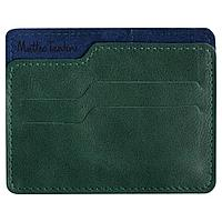 Чехол для карточек Roma, зелено-синий, фото 1