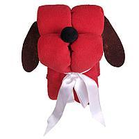 Игрушка-плед «Пес Трансформер», красный