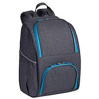 Изотермический рюкзак Liten Fest, серый с синим, фото 1
