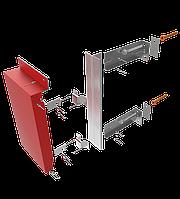 Конструкции навесной фасадной системы с воздушным зазором для кассет из композитного материала типа ННГС-КМ-20