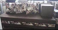 Комплект диван + пуф + подушки (индивидуальный заказ)
