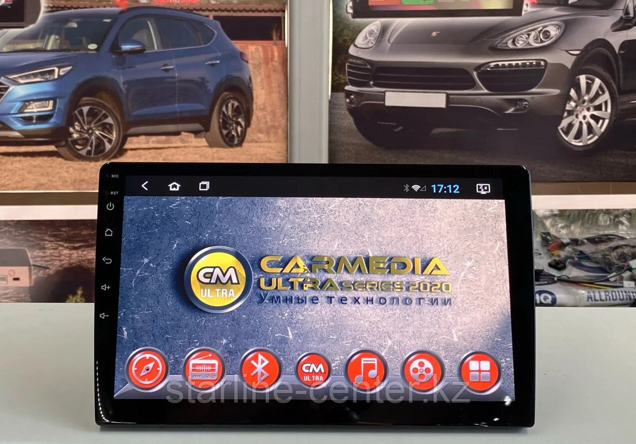 Автомагнитола  CarMedia ULTRA (ViTech) Toyota Land Cruiser 200 2016-2020