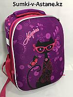 Школьный рюкзак для девочек в 3-4 класс.Высота 36 см,ширина 27 см,глубина 17 см., фото 1