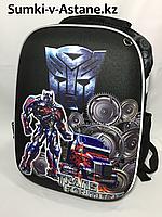 Школьный рюкзак для мальчика в 3-4 класс.Высота 36 см, ширина 27 см, глубина 17 см., фото 1