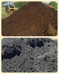 Почва. Грунт. Плодородный грунт. Опилки.