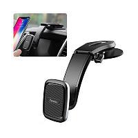Автомобильный держатель Hoco CA45A Center console magnetic in-car holder магнитный универсальный черный, фото 1