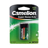 Батарейка CAMELION 6F22-SP1G Солевая 6F22(крона) 9V  1 шт. Плёнка