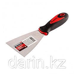 Шпательная лопатка из нержавеющей стали, 80 мм, двухкомпонентная ручка Matrix