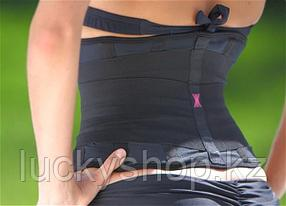 Пояс-корсет утягивающий Miss Belt (Мисс Белт), цвет черный, размер L/XL, фото 2