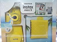 Подарочный набор Fujifilm Instax mini 9 Yellow (Желтый)