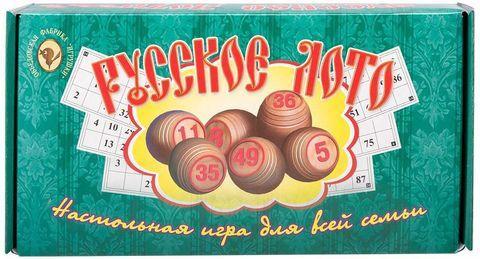 Настольная игра для всей семьи «Русское лото»