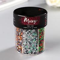 Набор конфетти Моху 'Tube Confetti. Holiday' 6 цветов