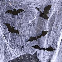 Карнавальный набор «Хэллоуин» паутина, фигурки летучие мыши
