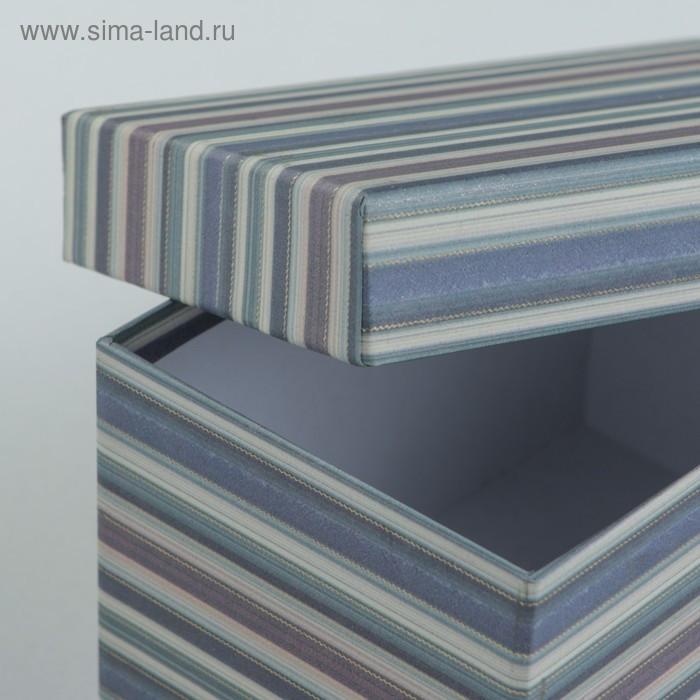Набор коробок 10 в 1, 30,5 х 25,5 х 16,5 - 12,5 х 7,5 х 7,5 см - фото 6
