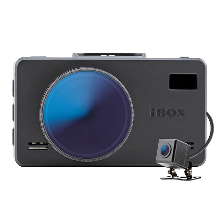 IBOX iCON LaserVision WiFi Signature Dual + камера заднего вида