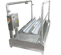 Проходная машина для чистки подошв и их боковой части 12.0013.12