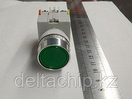 Кнопка промышленная Б\Ф 1NC + 1NO  зеленая