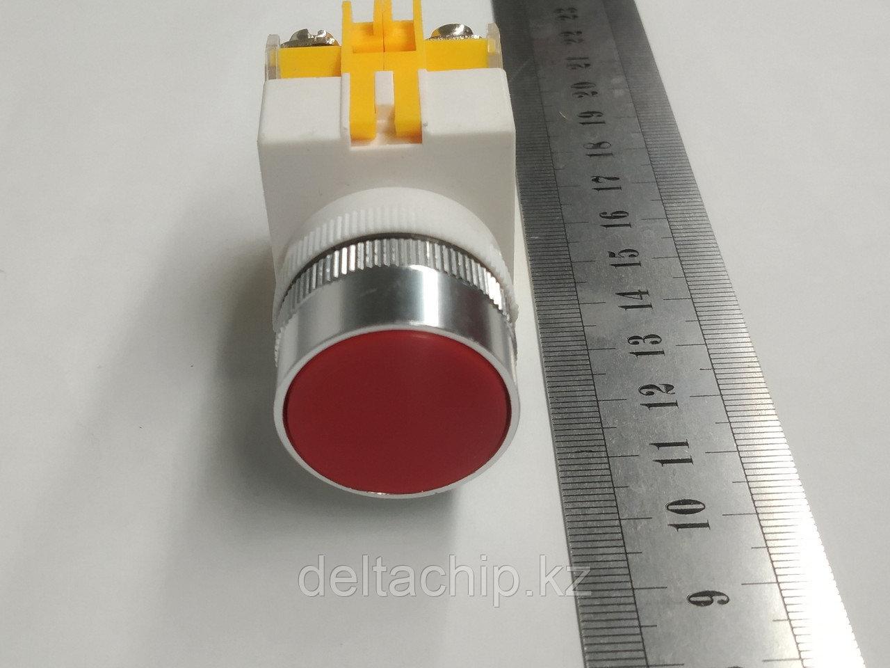 Промышленная кнопка с подсветкой 1NO+1NC