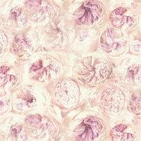 Обои флизелиновые IDECO Rosanne 151104 розы сиренево-розовые 1,06х10м