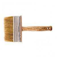 Кисть-ракля, 30 х 110 мм, натуральная щетина, деревянный корпус, деревянная ручка Россия, фото 1