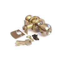 Ручка-защёлка APECS 6072-01-AB, с ключом, с фиксатором, цвет бронза