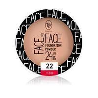 Пудра для лица TF Face To Face компактная, тон 22