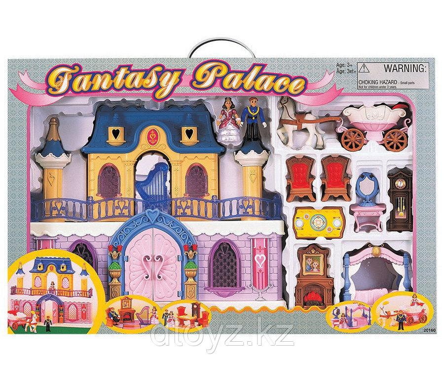 Keenway Игровой набор Fantasy Palace дворец с каретой 20160