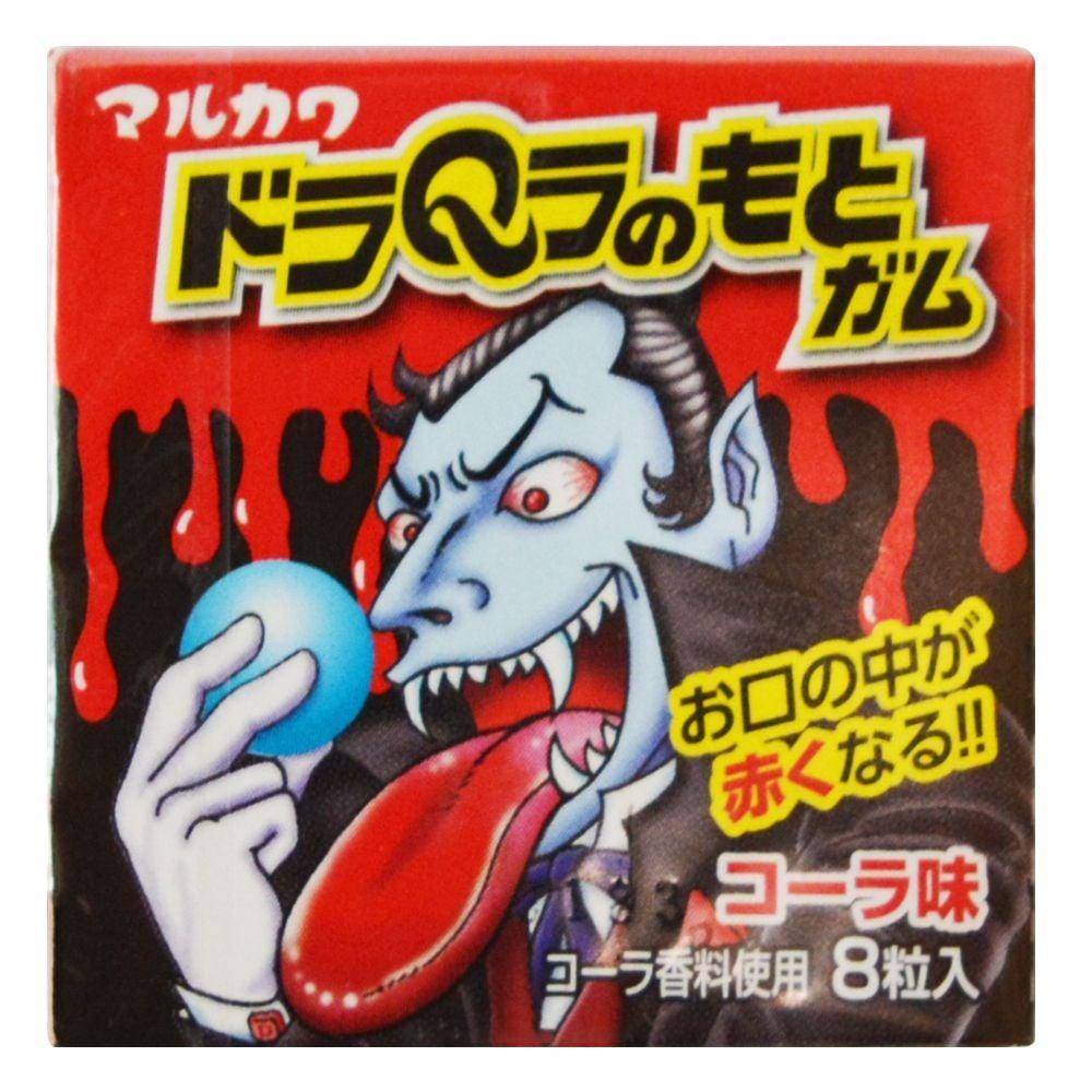 Жев.резинка Marukawa Красный Дракула со вкусом Колы 11,1 гр Япония