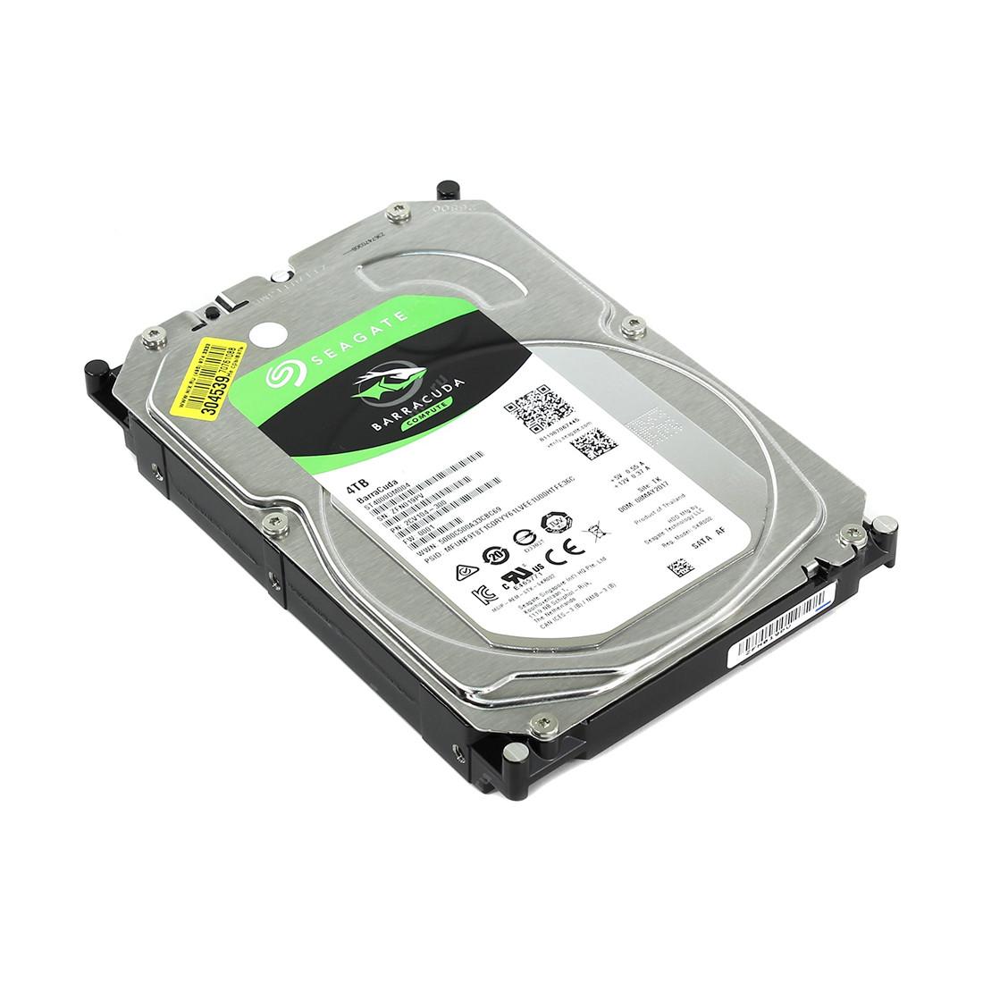 "Жёсткий диск HDD 4Tb Seagate Barracuda SATA6Gb/s 5400rpm 256Mb 3,5"" ST4000DM004"