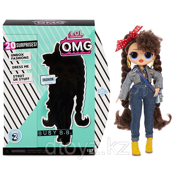 LOL Surprise - Кукла ЛОЛ OMG Busy B.B. 2 волна 565116