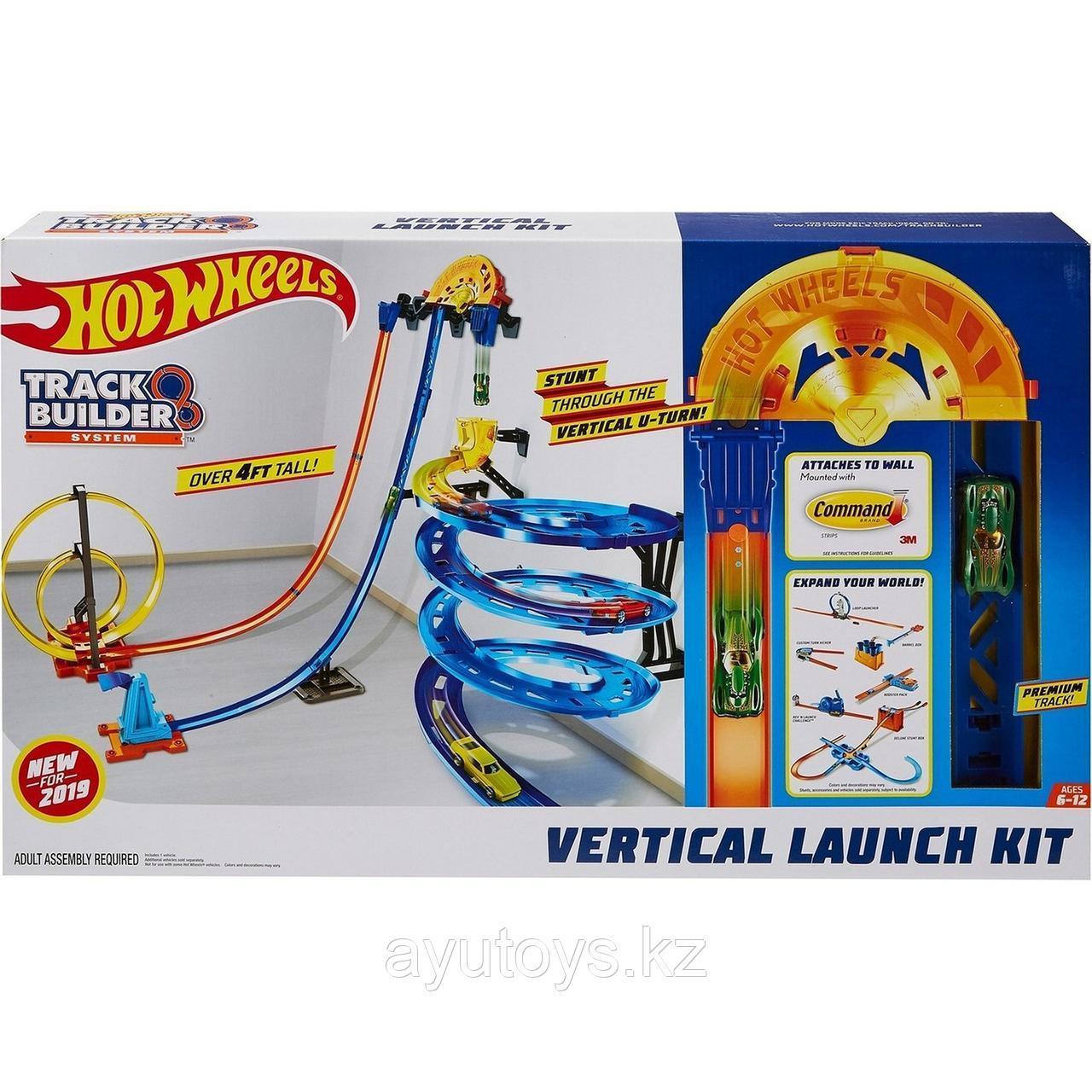 Hot Wheels Игровой набор Гонки по вертикали Хот Вилс