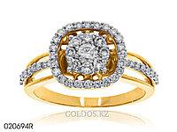 Кольцо с бриллиантом, 020694R